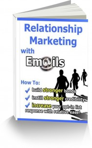 relationship marketing with email