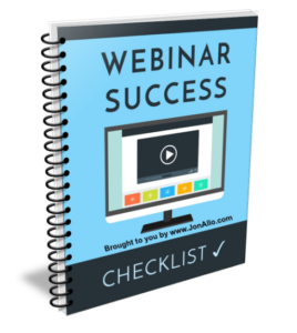 Webinar-Success-Checklist